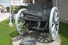 Field Gun standing in front of the Mount Fores Legion