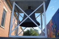 Picture of the bell from the Old Post Office