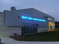 Mount Forest arena
